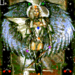 "Поверхность карты ""Angels Are Back"""