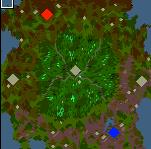 """Поверхность карты """"Magic Forest 1.1"""""""