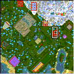 "Поверхность карты ""Town of sport and games"""