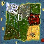 "Поверхность карты ""Treasure Hunters"""