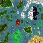 """Поверхность карты """"Atlantide"""""""