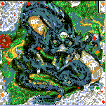 "The surface of the map ""Draconic 2"""
