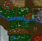 """Поверхность карты """"Canberra 12"""""""
