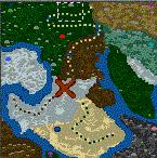 """Поверхность карты """"Artful Map II"""""""