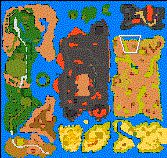 "Поверхность карты ""Isles of Terra 1.1"""