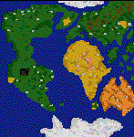 """Поверхность карты """"Ancient World"""""""