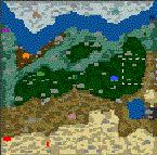 """Поверхность карты """"Citadel of Heroes 1"""""""