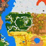 """Поверхность карты """"Sacred Town"""""""