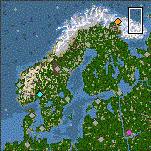 """Поверхность карты """"Arctic Empires"""""""