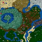 "Поверхность карты ""Fantasy - Heroes III Forever"""