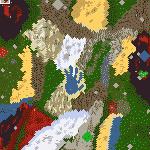 "Поверхность карты ""Treasure Land"""