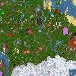 """Поверхность карты """"Fantasy Town"""""""