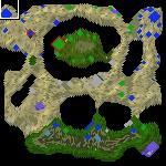 """Underground of the map """"Walk"""""""