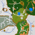 "Поверхность карты ""Mystery of the ancient marshes"""