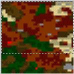 """Поверхность карты """"Climbing the Necromancer"""""""