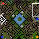 "Поверхность карты ""Bandits of the Rifen Maze"""