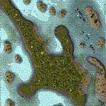 """Поверхность карты """"Bimini Island"""""""