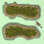 """Поверхность карты """"Colahlu Islands"""""""