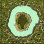 """Поверхность карты """"Clover Island"""""""