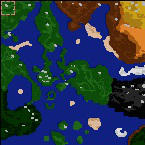 "The surface of the map ""Adventures"""