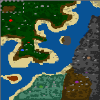 "Поверхность карты ""Danger of the nearby continent"""