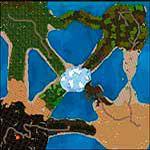 "Поверхность карты ""Middle Earth"""