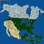 """Поверхность карты """"Ameryka"""""""