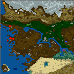 "Поверхность карты ""The Lands of Long time Ago"""