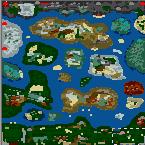 """Поверхность карты """"A Dragon Adventure"""""""