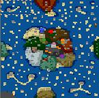 """Поверхность карты """"A Pirate Adventure"""""""