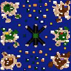 """Поверхность карты """"Whimsy Islands"""""""
