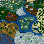 "Поверхность карты ""The Empire of the World III v2.1"""