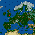 "The surface of the map ""[HotA] Europe"""