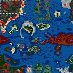 "The surface of the map ""В поисках голубых гор 1.9.6 (SoD версия)"""