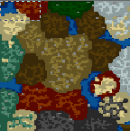 "Underground of the map ""The Border of Empires 2.0"""