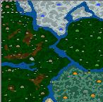 "The surface of the map ""Восхождение королевы Тьмы"""