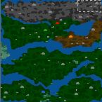 """Поверхность карты """"Всбесившиеся варвары"""""""