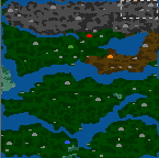 "The surface of the map ""Всбесившиеся варвары"""