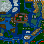 "The surface of the map ""Fantasy Conquest v2.1"""