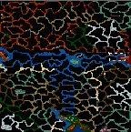"Underground of the map ""A Barbarian Uprising Conquest of Power"""