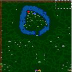 """Поверхность карты """"Chaotix Land"""""""