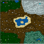 "The surface of the map ""Heroes of the Realm"""