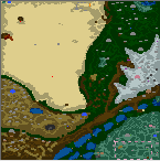 "The surface of the map ""Der Jabberwocky"""