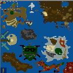"""Underground of the map """"The Dragon Slaughter"""""""