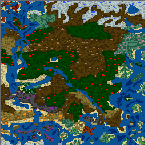 "Поверхность карты ""Война за господство"""