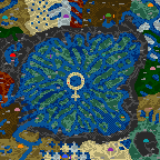 "Underground of the map ""Males vs Females"""