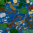 """The surface of the map """"Cliche"""""""