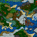 """The surface of the map """"Daggerwin Lands Impossible"""""""