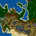 "Поверхность карты ""Поход на Запад"""