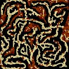 """Underground of the map """"Поход на Запад"""""""